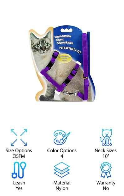 ONSON Cat Harness Leash