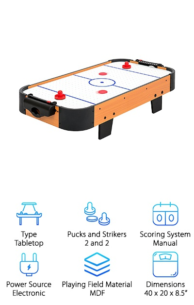 Best Choice Air Hockey. Budget Pick