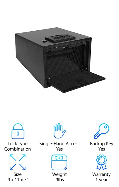 Ivation Quick Access Safe