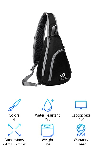 Waterfly Sling Shoulder Backpack