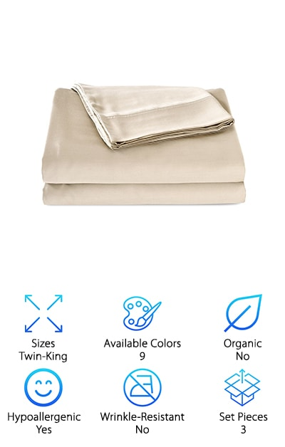Whitney Home Bamboo Sheets