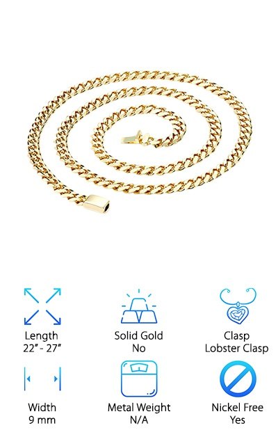 Hollywood 14k Cuban Chain