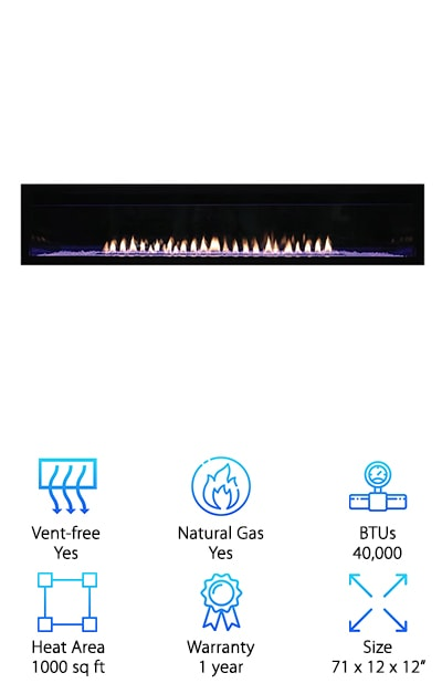 Boulevard Gas Fireplace