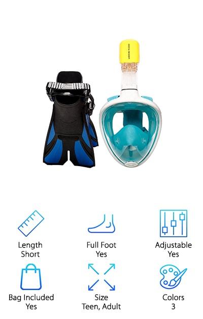 COZIA Snorkel Set