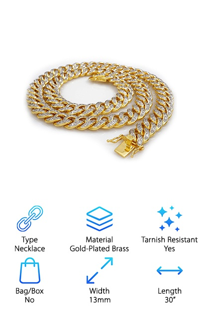 Best 18k Gold Cuban Link Chains
