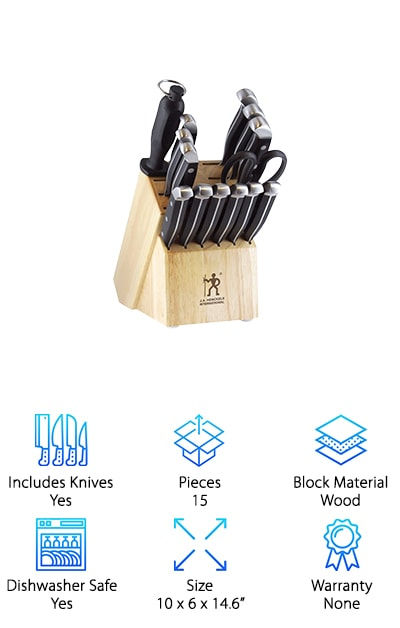 J.A. Henckels Knife Set