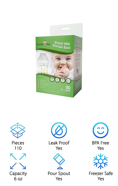 Bonafide Baby Breastmilk Bags