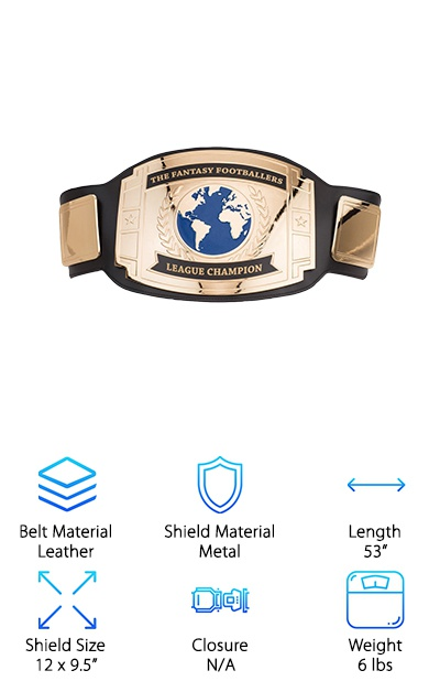 FantasyJocks Custom Champ Belt