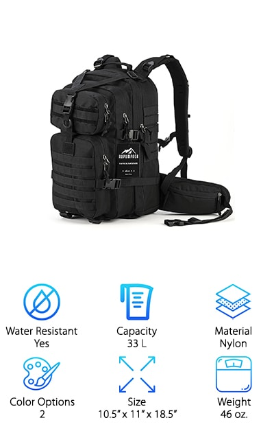 RUPUMPACK Military Backpack