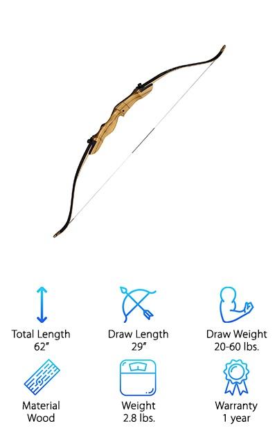 Spyder Takedown Recurve Bow