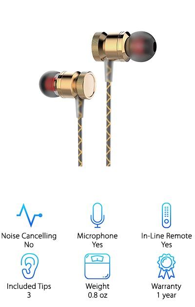 Ectreme Metal Earbuds