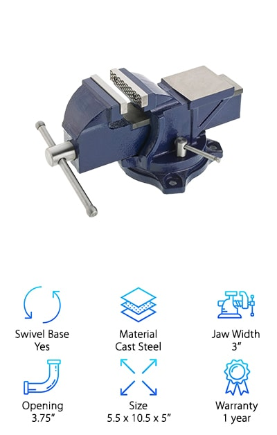 Grizzly G7057 Bench Vise
