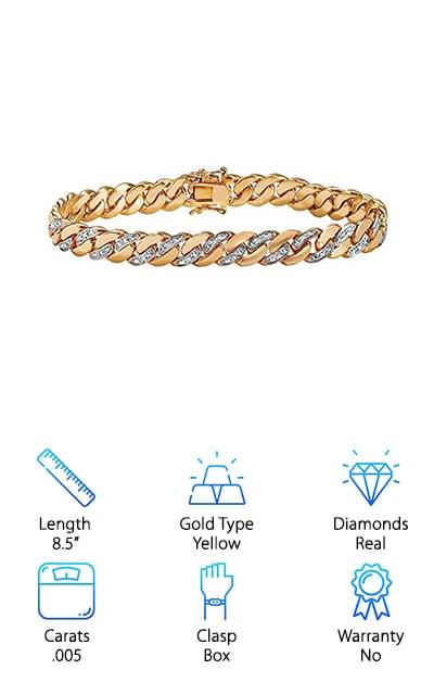 Lux Curb Link Bracelet