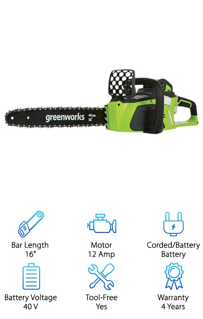 GreenWorks 20312 G-MAX