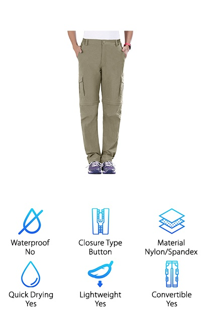 Unitop Hiking Pants