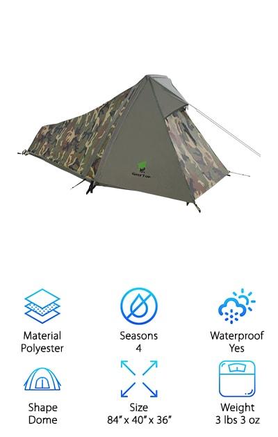 GEERTOP Bivy Tent