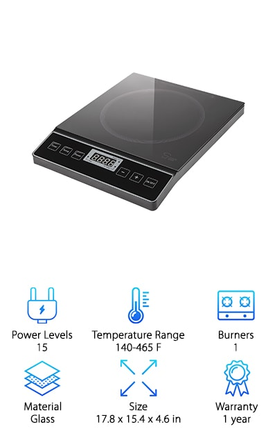 Chef's Star Portable Cooktop