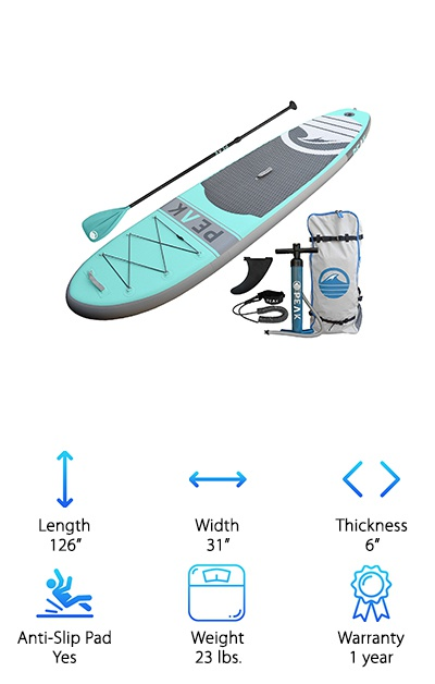 PEAK Stand Up Paddle Board