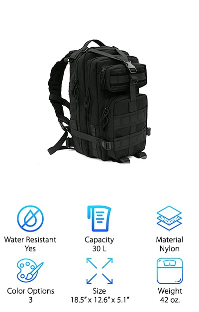 CVLIFE Tactical Backpack