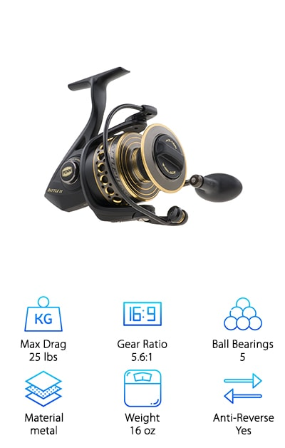 Penn Battle II Fishing Reel