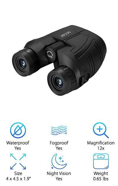 Occer Compact Binoculars