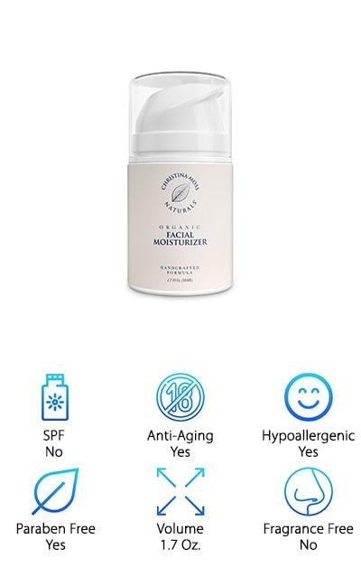 Best Organic Face Moisturizers