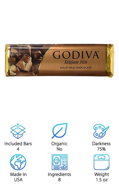 Godiva Solid Chocolate
