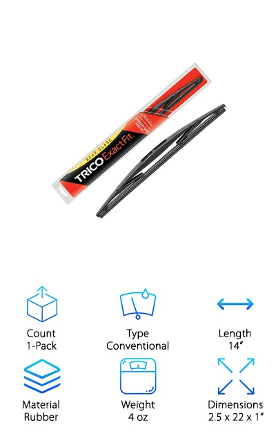 Trico Rear Integral Wiper Blade