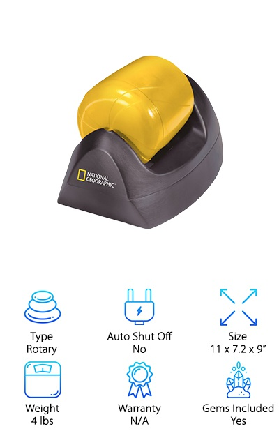 NatGeo Beginner Rock Tumbler