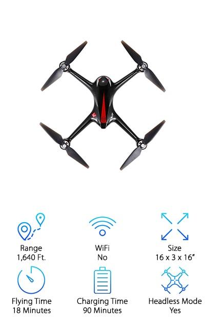 DronesGlobe MJX Bugs Drone