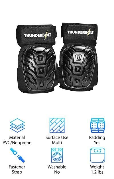 Thunderbolt Professional Kneepads