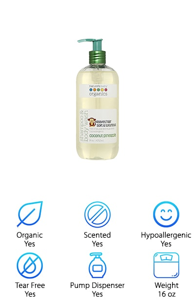 Nature's Baby Organic Wash