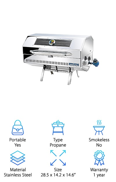 Magma Products Infrared Gas Grill