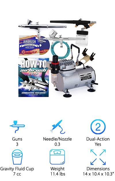 PointZero Dual Action Airbrush