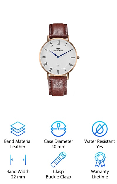 BRIGADA Swiss Watch