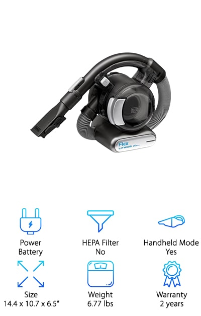 BLACK+DECKER MAX Flex Vacuum