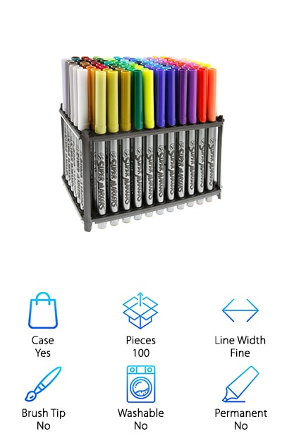 US Art Supply Markers Set
