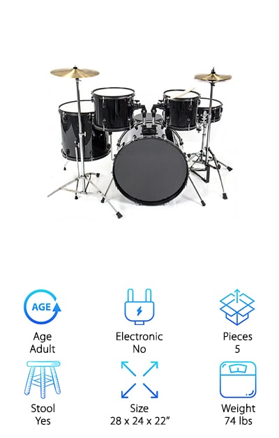 Best Choice Products Drum Sets
