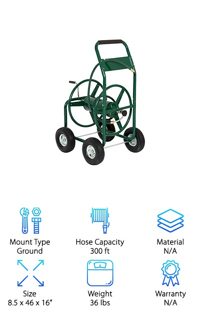 Xtremepower Hose Reel Cart