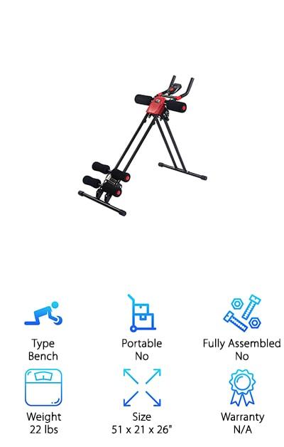 Goplus Power Abdominal Trainer