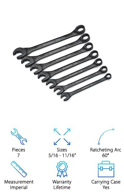 Crescent CX6RWS7 Wrench Set