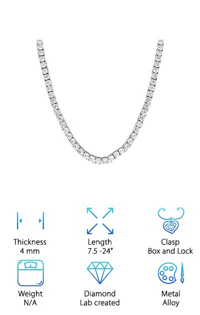 Bling Bling Tennis Necklace