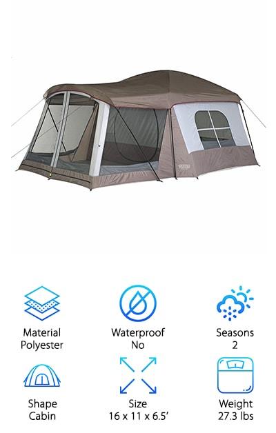 Wenzel Klondike Tent  sc 1 st  GeekWrapped & Best 8 Person Tents | Review + Top 10 Picks
