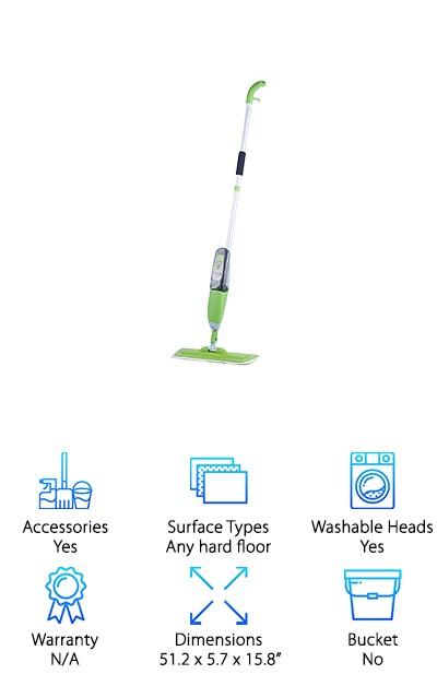 MangGou Microfiber Floor Mop