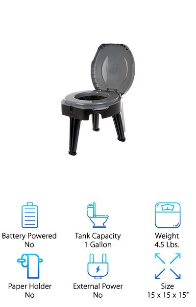 Reliance Fold Go Portable Toilet