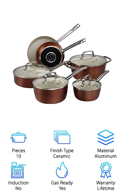 Cooksmark Pots and Pans Set