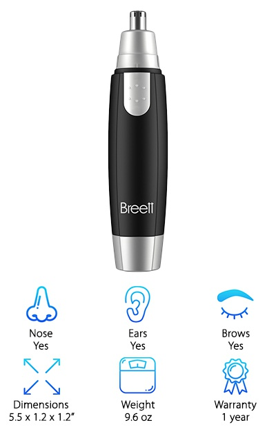 Breet Nose Hair Trimmer