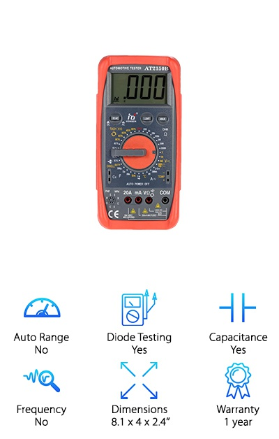KKmoon Automotive Multimeter