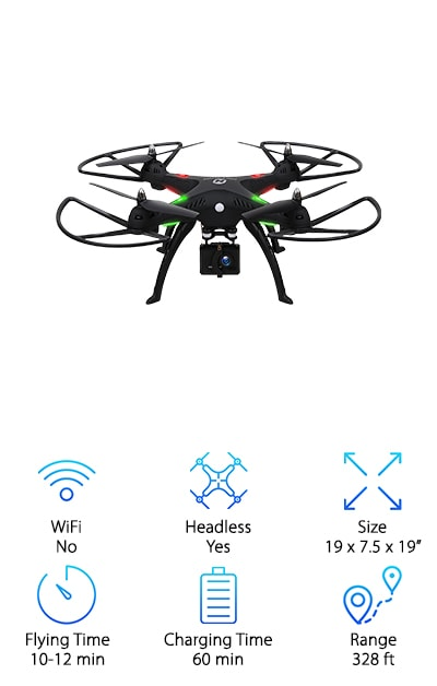 Holy Stone HS300 Quadcopter