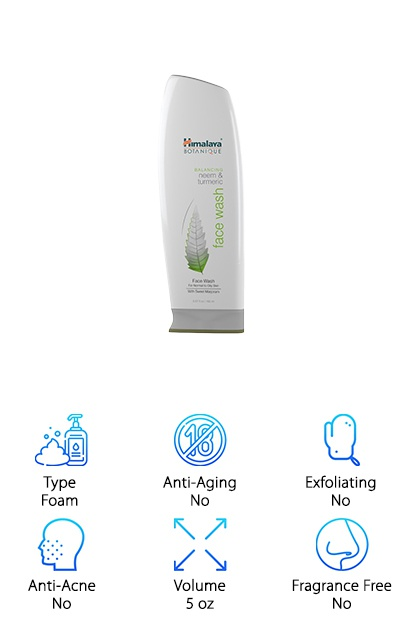 This natural organic facial cleanser from Himalaya Herbal Healthcare was designed to be the best facial cleanser for acne and oily skin. There are unique ingredients in this wash, too, like neem, turmeric, and natural Vitamin E. Not only is this an effective cleanser, it also evens out your skin and shrinks your pores. Get this: it doesn't even have any soap in it. That's right, it's soap free and relies on the ingredients that have been used for centuries to purify your skin and leave it soft, smooth, and radiant. The history of this brand is impressive. They're located in India and have been using all natural ingredients to develop their formulas since 1930. They continually study their techniques to make sure everything remains pure, safe, and effective. From our research, we think they've nailed it.